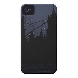 Dark Scene Illustration Print iPhone 4 Case-Mate Cases