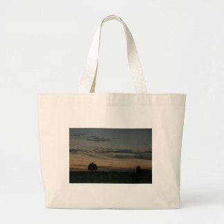 Dark Scene Large Tote Bag