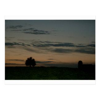 Dark Scene Postcard