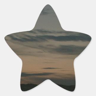 Dark Scene Star Sticker