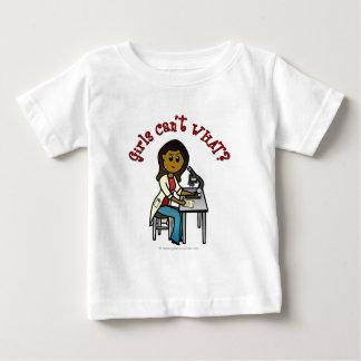 Dark Scientist Girl Baby T-Shirt