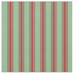 [ Thumbnail: Dark Sea Green and Brown Colored Pattern Fabric ]
