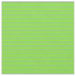 [ Thumbnail: Dark Sea Green and Chartreuse Colored Lines Fabric ]