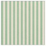 [ Thumbnail: Dark Sea Green & Beige Pattern Fabric ]