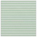 [ Thumbnail: Dark Sea Green & Lavender Colored Pattern Fabric ]
