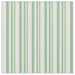 [ Thumbnail: Dark Sea Green & Light Cyan Lined/Striped Pattern Fabric ]