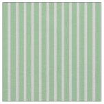 [ Thumbnail: Dark Sea Green & Light Gray Stripes Pattern Fabric ]