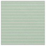 [ Thumbnail: Dark Sea Green & Light Grey Colored Lines Fabric ]
