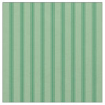 [ Thumbnail: Dark Sea Green & Sea Green Pattern Fabric ]