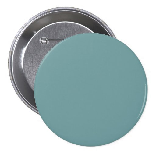 Dark Seafoam Blue Sea Foam Green Color Trend Pinback Buttons