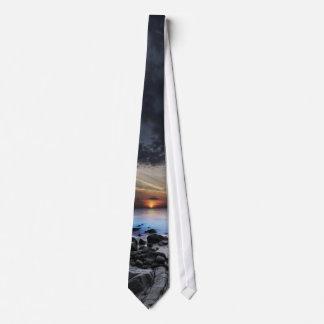 Dark Seaview (1 side) Tie