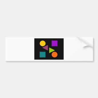 Dark Secondary Bumper Sticker
