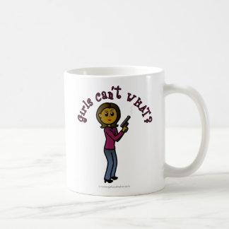 Dark Sharpshooter Girl Classic White Coffee Mug