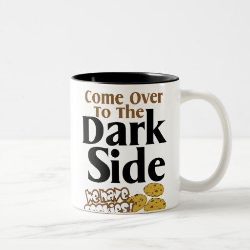 Dark Side $17.95 Two Toned Coffee Mug