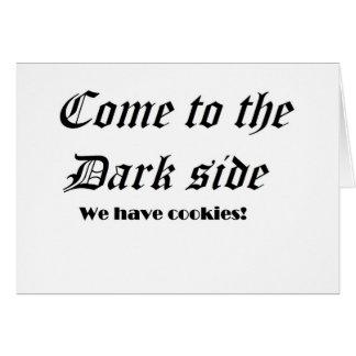 Dark side card