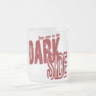 Dark Side - Frosted Glass Mug