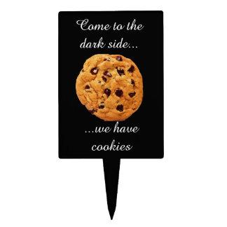 Dark Side Has Cookies Cake Topper