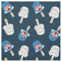 Dark Side Ice Cream Pattern Fabric