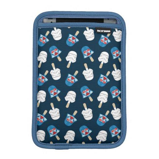 Dark Side Ice Cream Pattern iPad Mini Sleeve