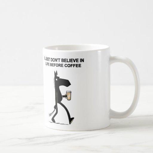Dark Side of the Horse Coffee Mug #2
