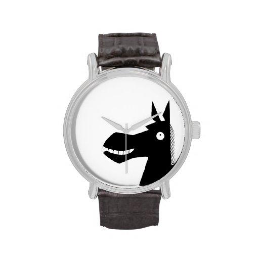 Dark Side of the Horse Wristwatch