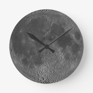 Dark side of the Moon clock