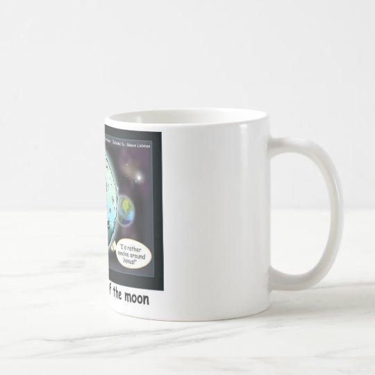 Dark Side Of The Moon Funny Cartoon Gifts Coffee Mug