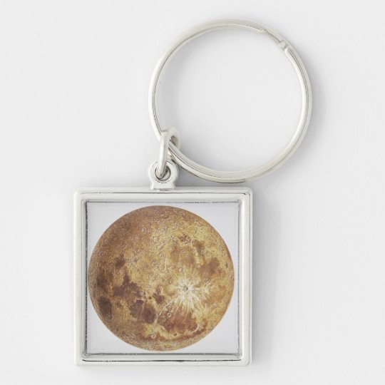Dark side of the moon, illustration keychain