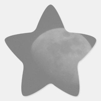 Dark Side of the Moon Star Sticker