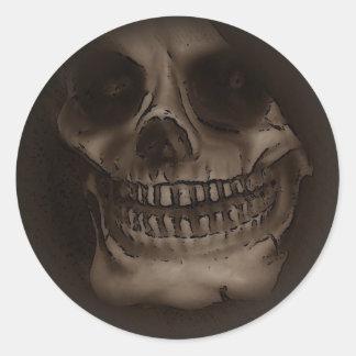 Dark Side Skeleton Sticker
