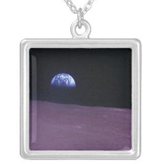 Dark Side Square Pendant Necklace