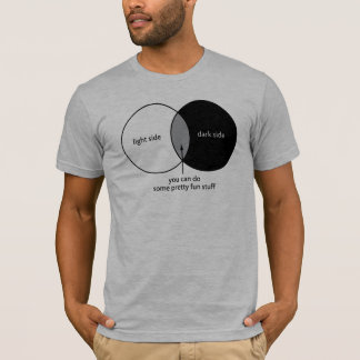 Dark Side Venn Diagram T-Shirt
