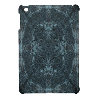 Dark silhouetted tree pattern case for the iPad mini