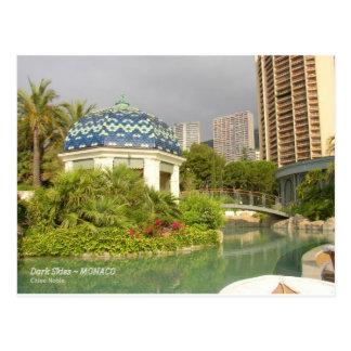 Dark Skies - Monaco Postcard