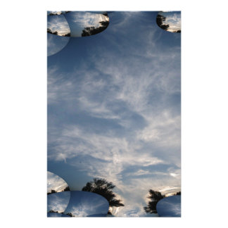 Dark Skies with A Fractal Trace Stationery
