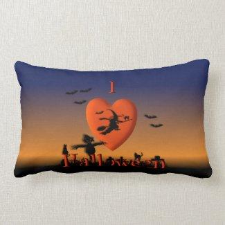 Dark SkiesHalloween American Mojo Pillow