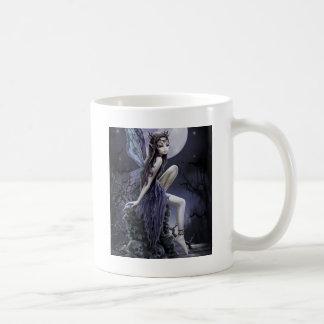 Dark Skull Fairy Coffee Mug
