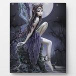 Dark Skull Fairy Photo Plaques
