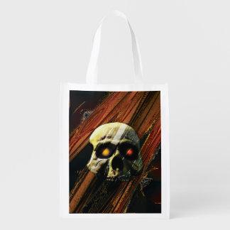 Dark Skull Market Tote