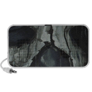 dark skull mp3 speaker