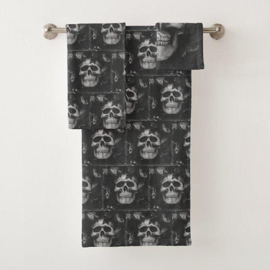 Dark Skull Towel Set