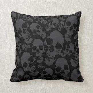 Dark Skulls Pillow