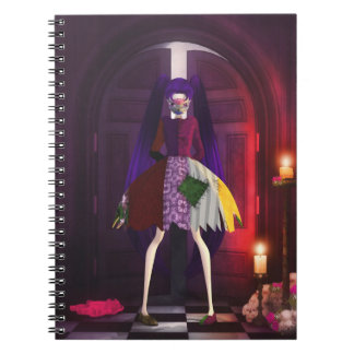 Dark Skully Delights Notebook