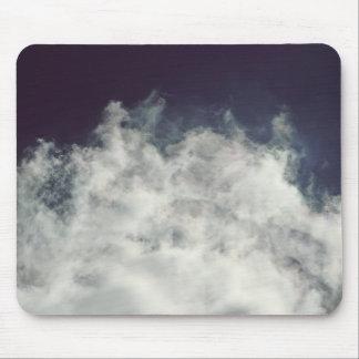 Dark Sky, Bright Cloud Mouse Pad