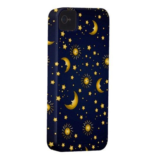 Dark Sky: Dark blue Case-Mate iPhone 4 Case