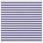 [ Thumbnail: Dark Slate Blue and Mint Cream Lines Fabric ]