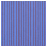 [ Thumbnail: Dark Slate Blue and Royal Blue Colored Pattern Fabric ]