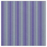 [ Thumbnail: Dark Slate Blue & Light Slate Gray Colored Lines Fabric ]