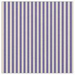[ Thumbnail: Dark Slate Blue & Tan Colored Pattern Fabric ]