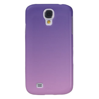 Dark Slate Blue to Light Medium Orchid H Gradient Galaxy S4 Case